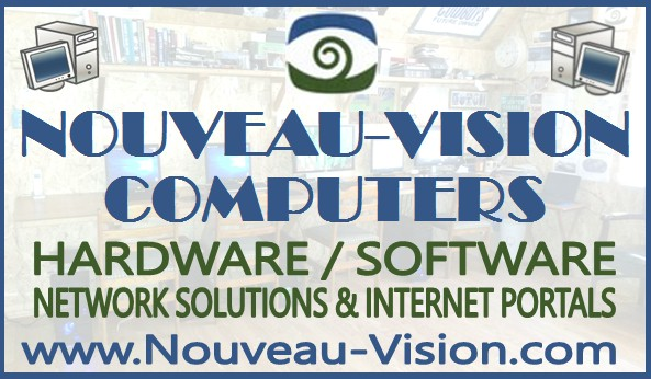 Nouveau-Vision Computers : Hardware / Software - Network Solutions and Internet Portals